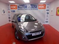 Renault Clio DYNAMIQUE TOMTOM 16V(SAT NAV) FREE MOT'S AS LONG AS YOU OWN THE CAR!!! (grey) 2012