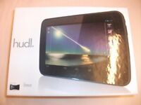Tesco black Hudl tablet - 16GB Quad-core 1.5GHZ processor with protective case in black