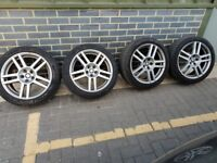 "Seat Leon/Ibiza (VW) 17"" Cupra FR Ronal Alloys Wheels with Tyres"