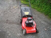 petrol lawnmower with briggs and stratton engine £50
