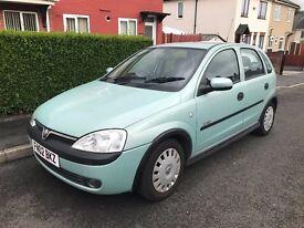 * FULL MOT * Vauxhall Corsa 1.4 i 16v Elegance 5 Door