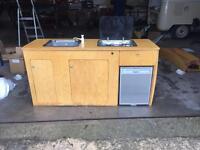 VW Campervan Splitscreen / Bay Window T2 Interior Camper