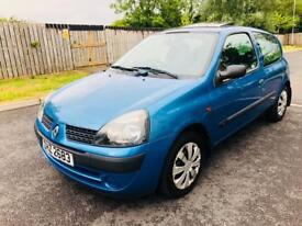 Renault clio 1.2 matalic blue 129K miles moted for 6 months