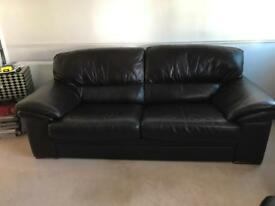 Settee and pouf