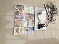 Nintendo wii, wii fit, consoles and x7 games