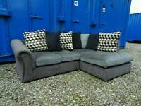 Grey Fabric Corner Sofa *Excellent Condition,Delivery Available*