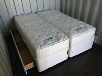 Bargain Duniopillo Luxury King Size Memory Foam Mattress Clean Condition, Free Delivery In Norwich,