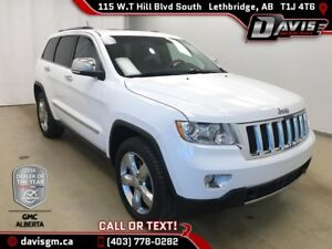 Used 2013 Jeep Grand Cherokee Overland-Heated/Cooled Leather, Na