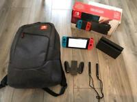Nintendo Switch. game. Bag