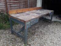 Large workshop bench