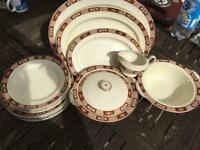 Clarence ware dinner set