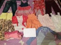 2-3 4-5 4-5 years Girls Clothes bundle