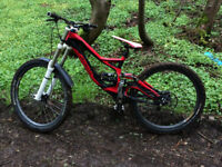 2012 SPECIALIZED DEMO 8 FSR DOWNHILL BIKE