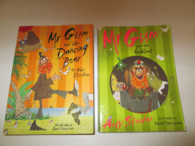 POPULAR MR GUM BOOKS X2 - MR GUM - DANCING BEAR / GOBLINS
