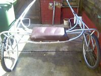 sulky cart to fit up to 13hh 90 pound no offers