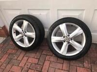 "Volkswagen Wheels / Vw Alloys / passat / Golf 17 "" alloys"