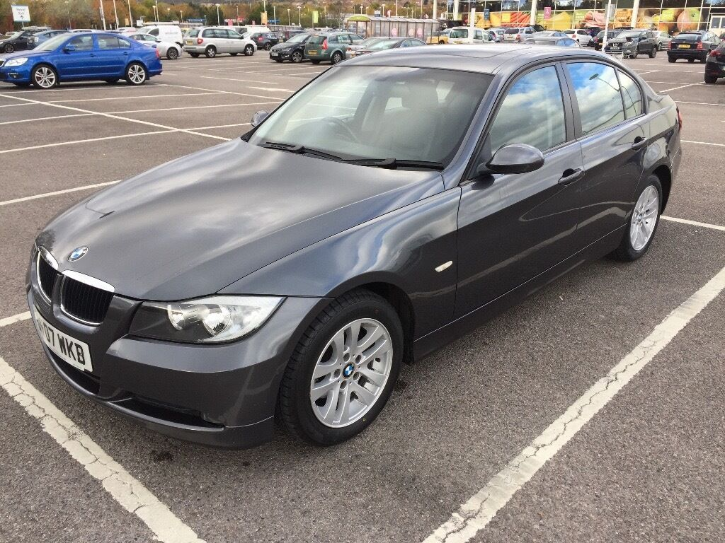 2007 BMW 320D SE / NEW MOT / PX WELCOME / LEATHER SEATS / NEW TYRES / FINANCE AVAILABLE / WE DELIVER