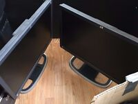 4 HP Monitors for sale 21""
