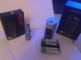 Wismec RX200S with XTank 3.0