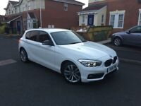 BMW 1 SERIES 1.5 116d 2015 FULL SERVICE HISTORY HPI CLEAR SAT NAV