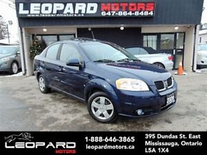 2009 Pontiac G3 Wave SE,Sunroof,Full Automatic*Low Km*No Acciden