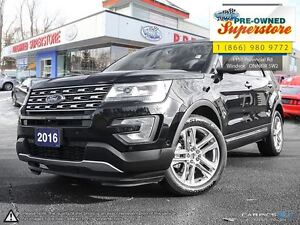 2016 Ford Explorer >>>Limited, 4WD, POWER PEDALS<<<