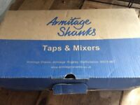 new boxed armatige shanks tap and bath set