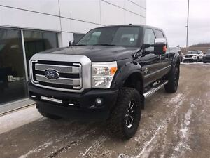 2013 Ford F-350 Platinum LIFTED AND LOADED!! $384.85 b/weekly.