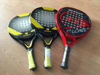 Paddle rackets - new