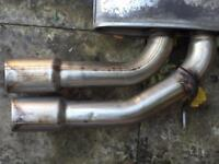 Seat leon FR EXHAUST SISTEM in good condition like new