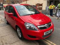 Vauxhall Zafira 2010 1.9 Just 32,000 Genuine Mileage Diesel Excellent Car with 12 months Mot