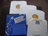 4 LP Vinyl Box Set: Romantic Tunes played by top Orchestras.