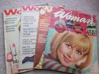 Vintage 'Woman' Magazines 1965/1966