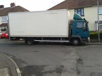 MAN AND VAN - Large Lorry House - Office Removals - Storage