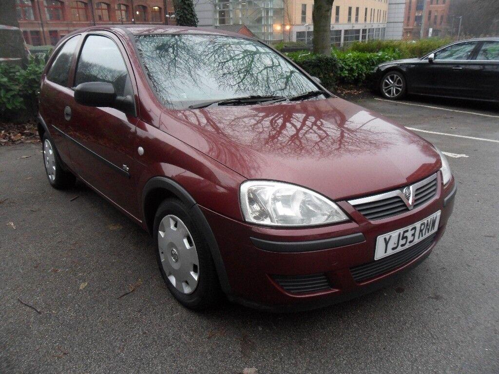 Vauxhall Corsa - 1.0 petrol.