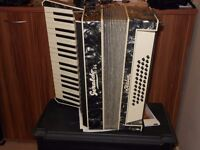 accordion portable musical instrument good condition