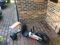 3 wheel twist Go Kart with F1 livery