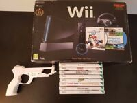 Nintendo Wii with games, accessories and with GameCube games, accessories (USED)