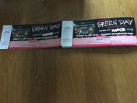2 GreenDay Tickets Glasgow Bellahouston Park 4th July 2017 Special Guests Rancid and Slaves