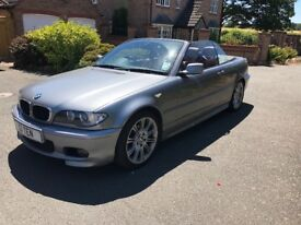 2006 BMW 3-Series Convertible 2.0 318Ci M Sport Manual
