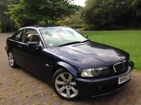 2002 (52) BMW 318i 2dr Coupe Automatic fully loaded