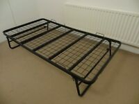 Roll away single bed frame