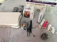 Console and 11 games +extras