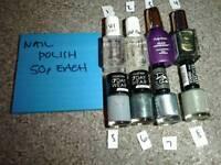Nail Polishes - various 8x