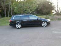 2006 VOLKSWAGEN PASSAT 2.0 TDI SPORT ESTATE - 6 SPEED - BLACK - 45-50 MPG - BARGAIN !!
