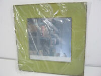 Shabby Chic Green Square Mirror 40 x 40cm