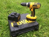 Dewalt drill 18v brilliant condition