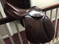 Lovely brown 17 inch second hand Mark Todd GP saddle for sale
