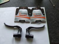 2. Tektro RX4.1 Alloy brake levers. and 3. Re Action Brake Cables.