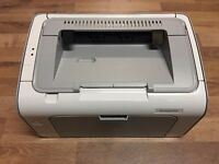**BARGAIN** New HP LaserJet P1102 + Brand New Power Lead & Printer Lead - In Excellent Condition